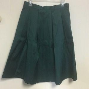 Forever 21 Emerald Green Skirt